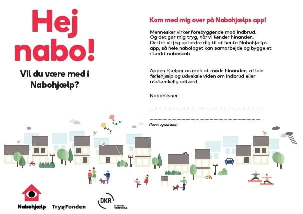 Nabohjælp - få din nabo med i hjælpen folder nabohjælp jpg 1